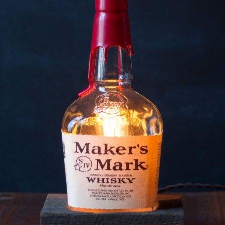 Maker's Mark Table Lamp