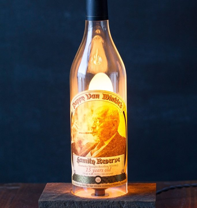 Pappy Van Winkle Table Lamp