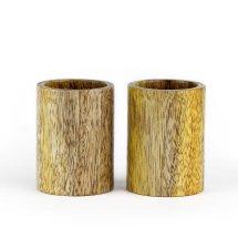 Mango Wood Shot Cup