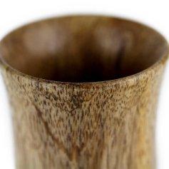 Mango Wood Stemless Cup