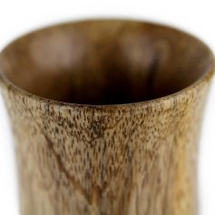 Mango Wood Stemless Cup